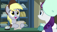 Derpy asking for Rarity's name MLPBGE