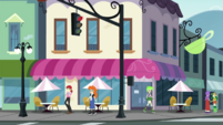 Exterior shot of the Sweet Shoppe CYOE3c