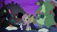 "Fluttershy ""we could celebrate Nightmare Night"" S5E21"