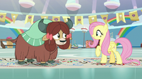 "Fluttershy pleased ""good!"" S9E7"