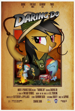 MLP Retro Week Indiana Jones parody poster
