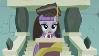 Maud Pie concludes her short speech S7E4