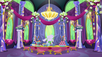 New Friendship Rainbow Kingdom castle dining room S5E3