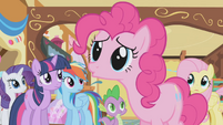 Pinkie Pie -I did this party to improve your attitude- S1E05