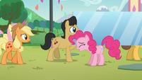 Pinkie pie llamando a todos los ponis S5E24