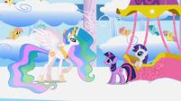 Princess Celestia asks if Twilight has learned about friendship S1E16