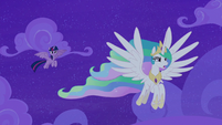 Princess Celestia refuses to talk to Twilight S8E7