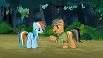 Quibble Pants calling Rainbow awesome S6E13