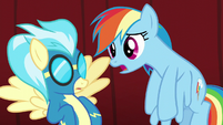 """Rainbow """"but I didn't mean anything"""" S5E15"""
