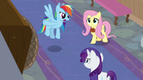 "Rainbow Dash ""chat with those announcers"" BGES3"