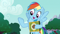 "Rainbow Dash ""why waste my time"" S6E15"