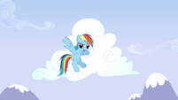 Rainbow Dash 'In Ponyville-' S3E7