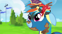 Rainbow Dash hears more laughter S6E7