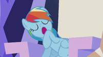 Rainbow yawning S5E8