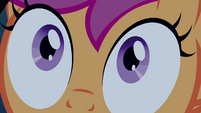 Scootaloo's pupils shrink S3E06