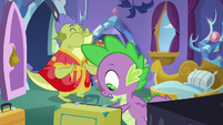 "Spike ""doesn't like having real dragons"" S8E24"
