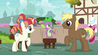 Spike helps with Coco and Rainbow's friendship problem S7E15