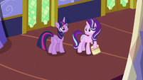 Starlight's eyes widen with realization S6E21
