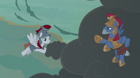 White Legion stallion adds clouds to the thundercloud S7E16