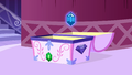 A gem levitated out of the chest S1E19.png