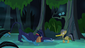Ahuizotl approaches Daring Do S4E04.png