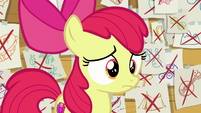 Apple Bloom in blank embarrassment S6E4