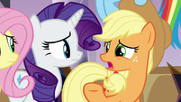 "Applejack ""at least we're inside"" S9E2"