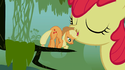 Applejack broke her head S01E09