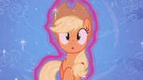 Applejack shocked S4E16