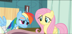 Dash's depressed look S2E16