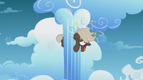Dumb-Bell stuck in cloud pillar dizzy S5E25