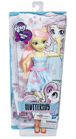 Equestria Girls Classic Style Fluttershy doll packaging