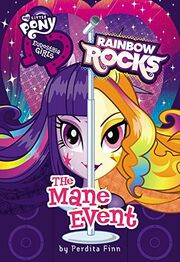 Equestria Girls Rainbow Rocks The Mane Event cover