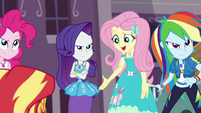 """Fluttershy """"we'd be proud to call you"""" EGFF"""