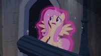 Fluttershy frozen in magic S04E03