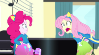 "Fluttershy weakly shouting ""Hands!"" SS4"