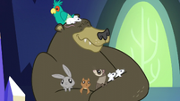 Harry the bear hugging critters S5E3
