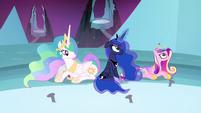 Luna and Cadance have their magic back S4E26