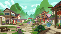 Mistmane's Eastern village home S7E16