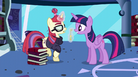 Moon Dancer declines Twilight's invitation S5E12