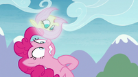 Pinkie haunted by vision of Fluttershy S8E3
