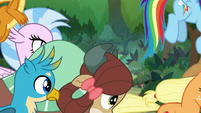 Ponies and students still running through woods S8E9