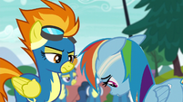 Rainbow Dash hangs her head in shame S6E7