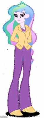 Rainbow Rocks Principal Celestia artwork