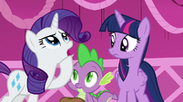 "Rarity ""how to explain"" S5E22"