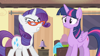 Rarity 'Congratu-pony-lations, fillies!' S4E08
