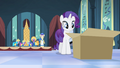 Rarity approaching the box S4E19.png