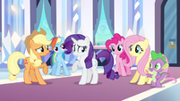 Rarity don't remember S3E1