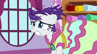 Rarity even more upset by her friends' shock S7E19