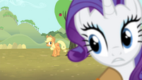 Rarity pushed away S4E13
